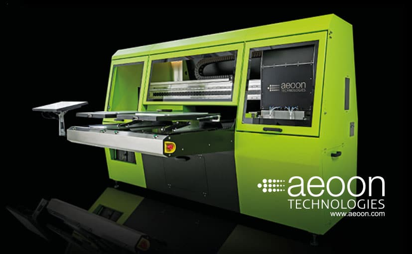 aeoon superfast garment printer